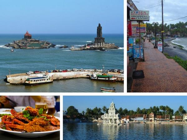 തിരുവനന്തപുരം - കോവളം - കന്യാകുമാരി