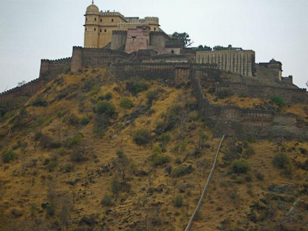 Kumbhalgarh is a mewar fortress in Rajasthan