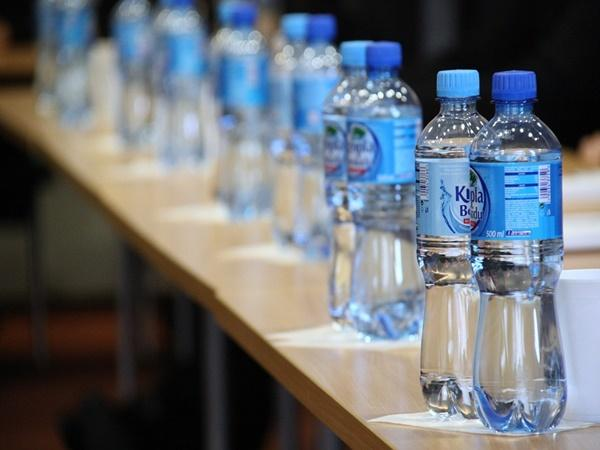 crush water bottles at railway stations