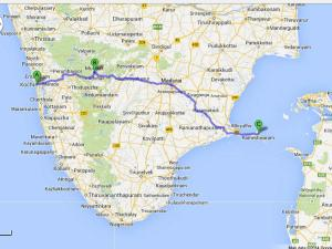 A Trip Rameswaram From Kochi