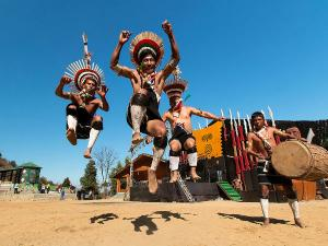 Malayalam Travel Guide On Hornbill Festival