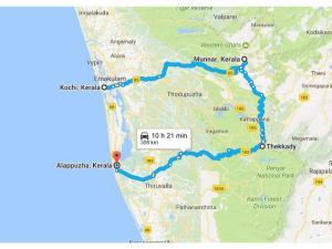 Kochi Munnar Thekkady Alappuzha