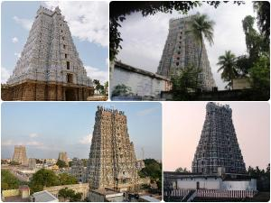 Tallest Temple Towers Tamilnadu