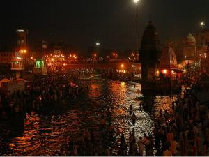 Haridwar Holy City In The Banks Of Ganges