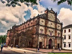 Basilica Bom Jesus Holds Mortal Remains St Francis Xavier