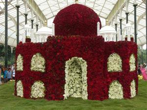 Independence Day Flower Show At Lalbagh
