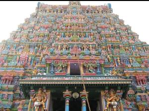 The Historic Temple Of Madurai Meenakshi Temple