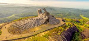 Jatayu Earth S Center World S Largest Bird Sculpture