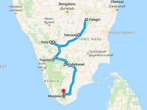 Famous Hill Stations Tamil Nadu