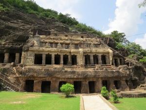 The Ancient Cave Temple Of Undavalli In Andhrapradesh