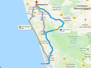 Easiest Way To Go From Kochi To Malappuram