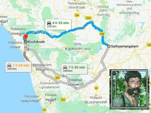 Let S Travel From Kozhikode To Sathyamangalam