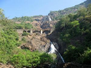 Dudhsagar Falls The Best Scenery From Amaravati Express