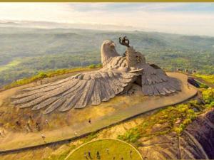 Jatayu Nature Park Adventure Destination In Kerala