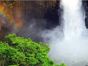 Langshiang Falls The Sparkling Beauty Meghalaya Malayalam