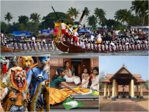 Kerala Onam Festival Attractions Temples Events