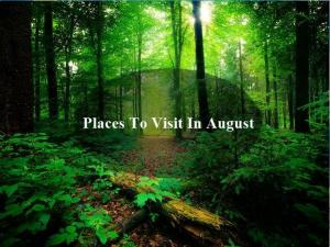 Places To Visit In Kerala In August Malayalam