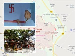 Muslims Have Taken Care Muzaffarnagar Temple 26 Years