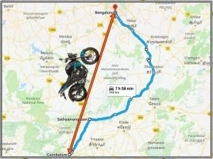 Best Route For Bike Riders From Coimbatore To Bangalore