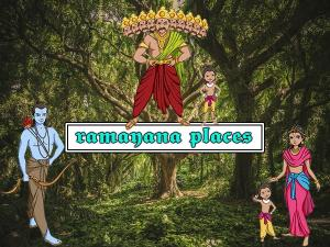 Places Mentioned Epic Ramayana