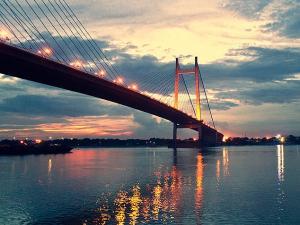 Vidyasagar Setu The Longest Cable Stayed Bridge In India