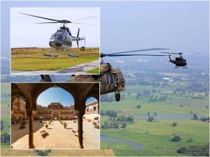 Helicopter Rides In India That You Should Not Miss