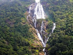 Amazing Waterfalls In Goa