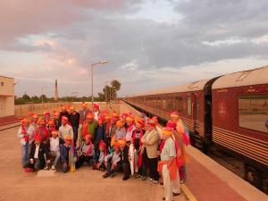 Maharajas Express Train Route Fare And Time