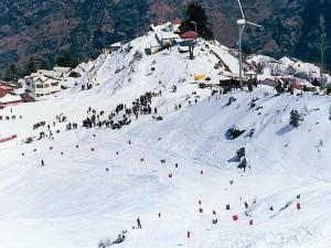 Himalayan Destination Celebrate Winter With Snow