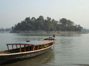 Travel Umananda Island Brahmaputra