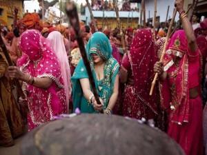 Holi Celebration In Gokul Uttar Pradesh