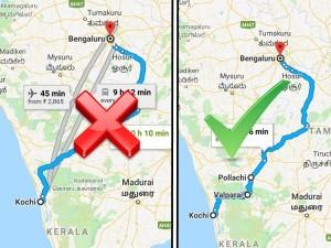 Scenic Route From Kochi To Bangalore Via Valparai