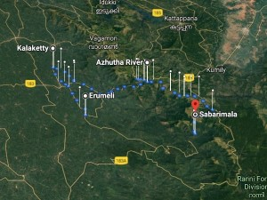 Sabarimala Yatra Through Kanana Patha Attractions Distance And Duration