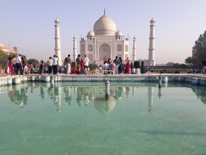 Flying A Drone Camera In The Periphery Of 500 Meters Around The Taj Mahal Is Restricted