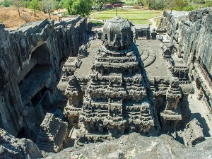 Interesting Facts About Kailasa Temple Of Ellora Caves Maharashtra