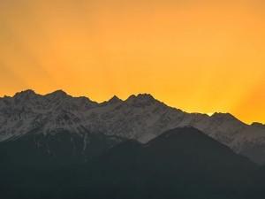 Lockdown After 30 Years Saharanpur In Uttar Pradesh Witness The Himalayan Peaks