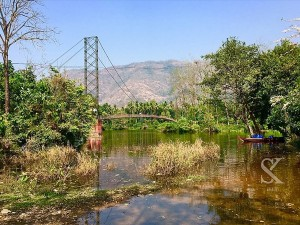 Inchathotty Suspension Bridge In Neriamangalam Attractions And Specialities