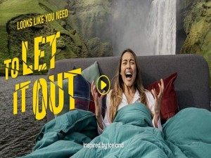 To Reduce The Stress Iceland Tourism Has Launched A New Campaign Named Let It Out