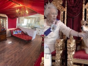 Royal Caravan In Britain Live Like The Queen World S First And Only Royal Caravan