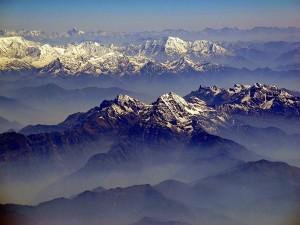Dhauladhars Peaks In Himachal Covered In Snow First In Season