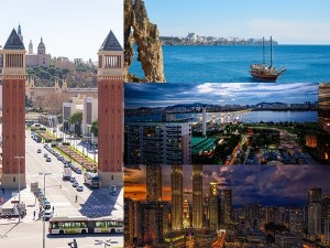 From Bangok To Barcelona Top Visited Cities In The World In