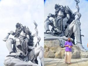 Azhimala Shiva Statue Thiruvananthapuram Included In Kerala Pilgrim Tourism Circuit
