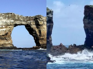 Darwin S Arch In Galapagos Archipelago Collapses Into Sea Due To Erosion