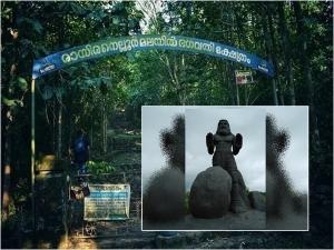 രായിരനല്ലൂർ.. നാറാണത്ത് ഭ്രാന്തൻ  കാലടികളെ ആരാധിച്ചിരുന്ന വിചിത്ര ക്ഷേത്രം