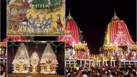 ശ്രീകൃഷ്ണന്റെ മധുര യാത്രയുടെ ഓർമ്മയിൽ പുരി രഥയാത്ര!!