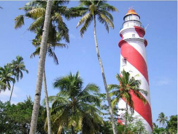 Thangasseri Lighthouse Tallest Lighthouse On The Kerala Coa