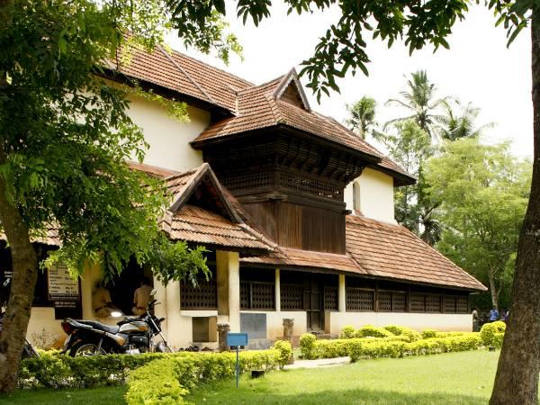 Koyikkal Palace With Traditional Architectural Style Kerala Malayalam